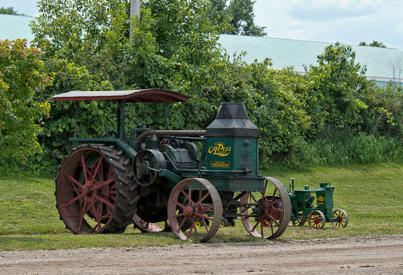 Rumely Mother and Son