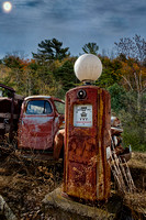 Gas Pump and Old Truck