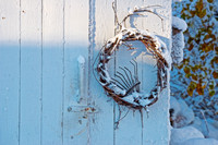 Wreath in Winter