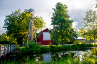 Quilt Barn and Windmill