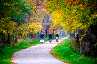 Amish Girls on Bikes, Pumpkinvine Trail