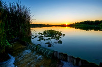 lake spillway at sunset 20170802 _DSC8544