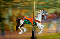 Carousel Horse with Axe