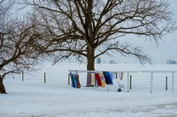 Laundry in Winter
