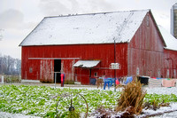 Red Barn at Laundry Day