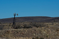 West Texas, Wooden Windmill